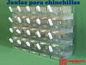 Jaulas para Chinchillas
